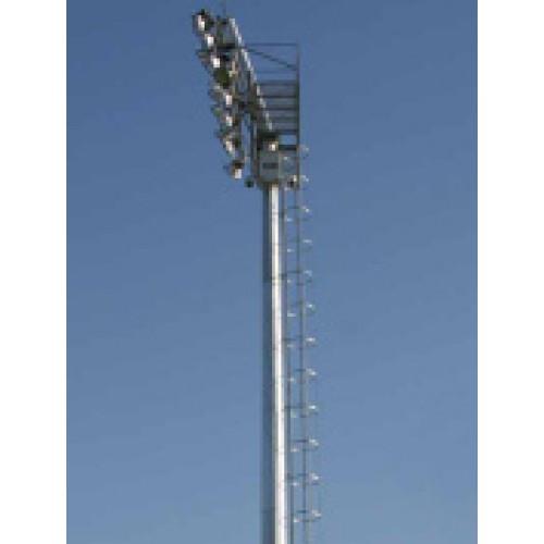 Platformlu Koruma Merdivenli Stadyum Direği